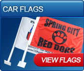 car flags for sport and events