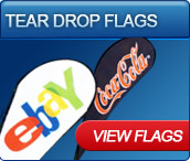tear drop flags