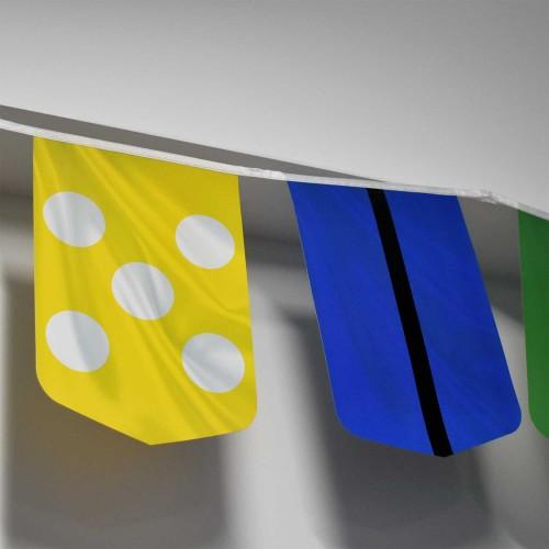 PVC String Flags