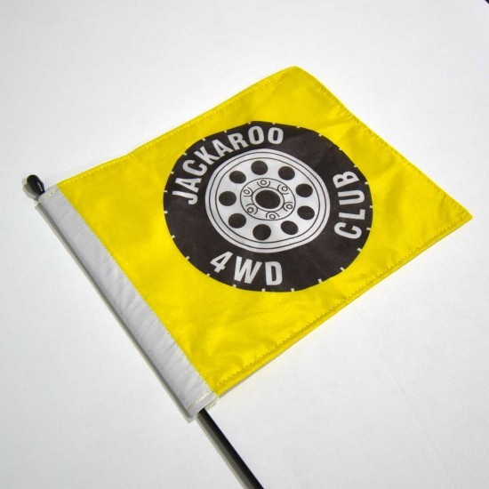 8in x 12in Antenna Flag Single Sided