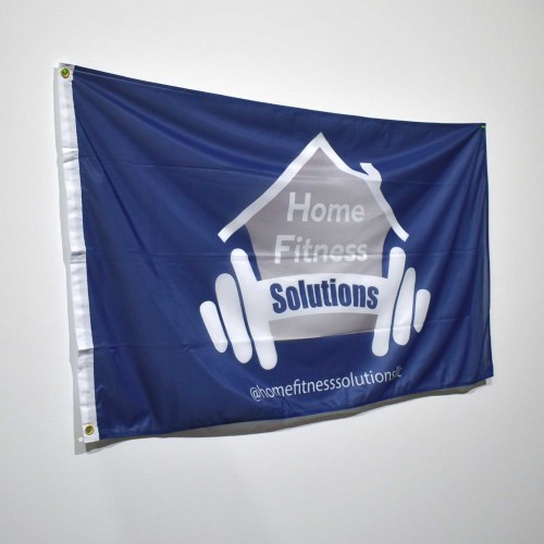 Custom Flag Single Sided  - 3ft x 5ft