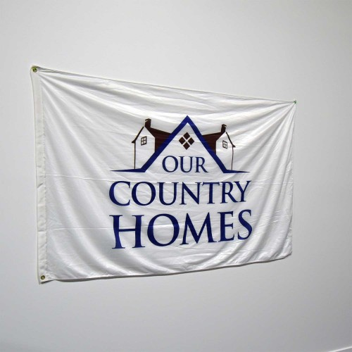Custom Flag Single Sided - 4ft x 6ft