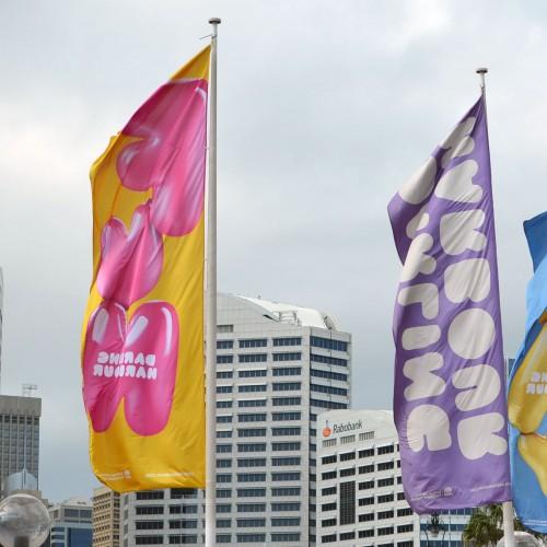 Street Flags - 3ft x 9ft
