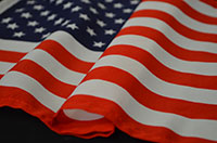 Polyester-flag
