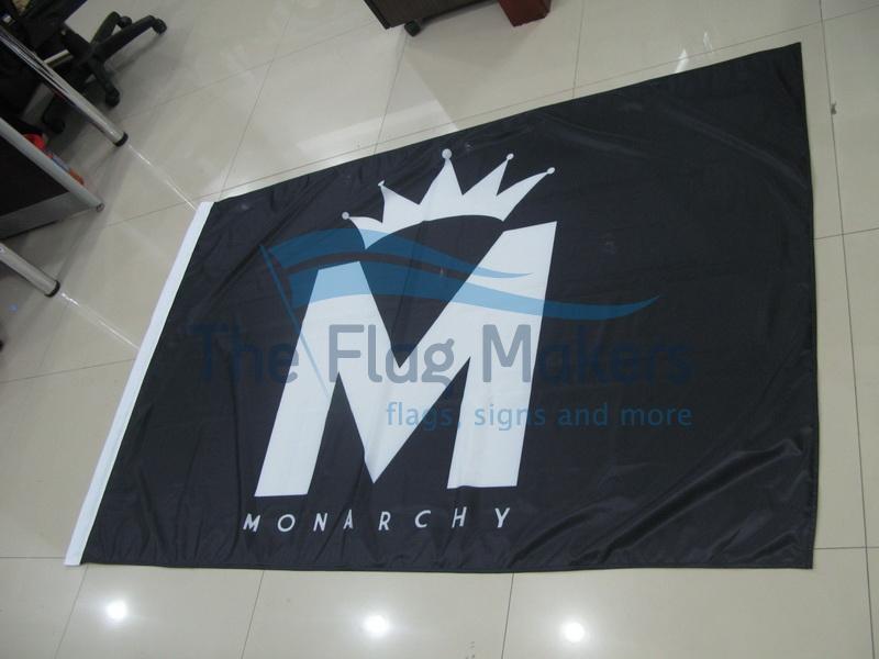 Custom Flag Monarch