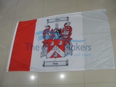 Custom Flag Coat Of Arms