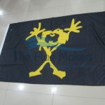Custom Flag Yellow Man