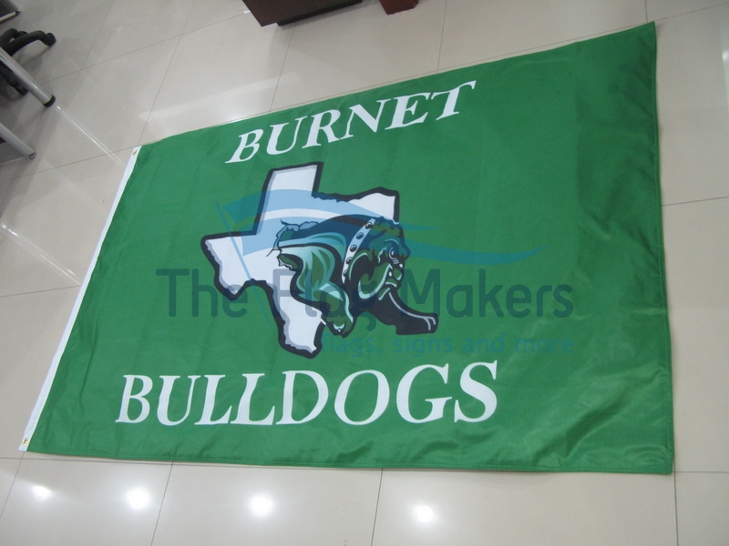 Custom Flag Bulldogs