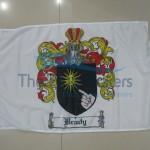 Custom Flag Coat Of Arms 2