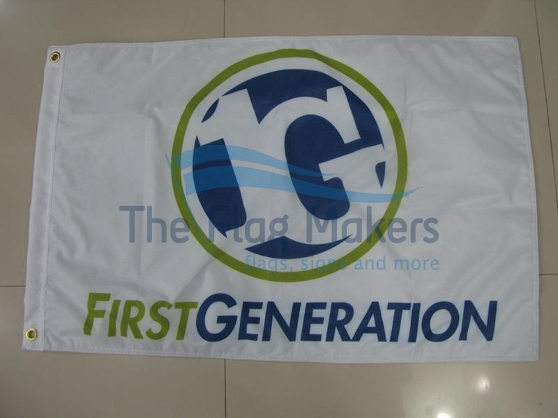 Custom Flag First Gen