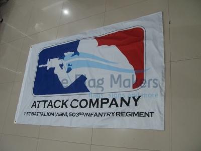 Custom Flag Attack