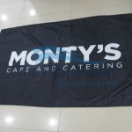 Custom Flag Montys