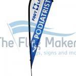 teardrops flags podiatrist