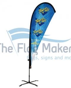 teardrops flags power