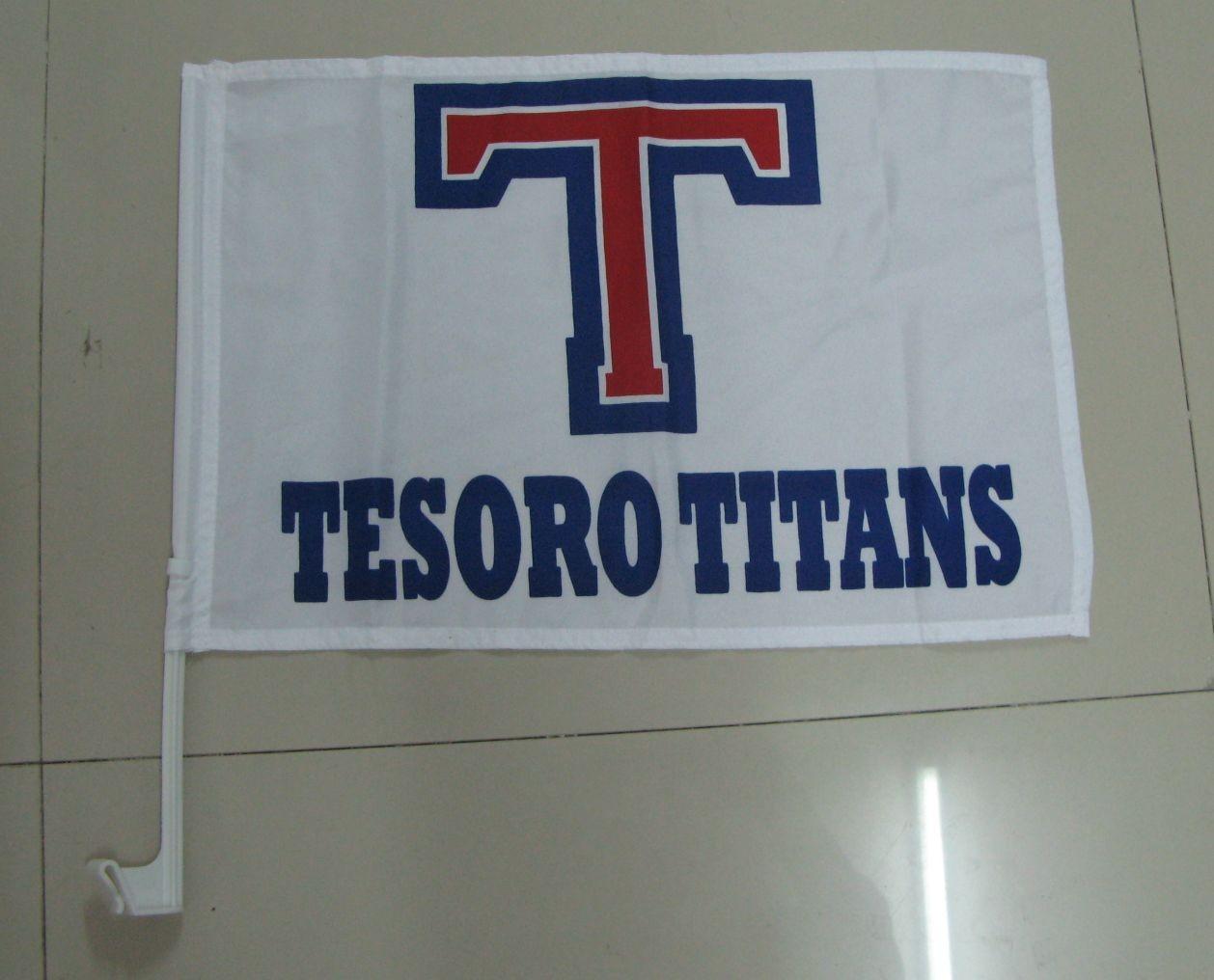 Tesoro Titans Car Flag