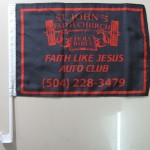 screen printed car flags