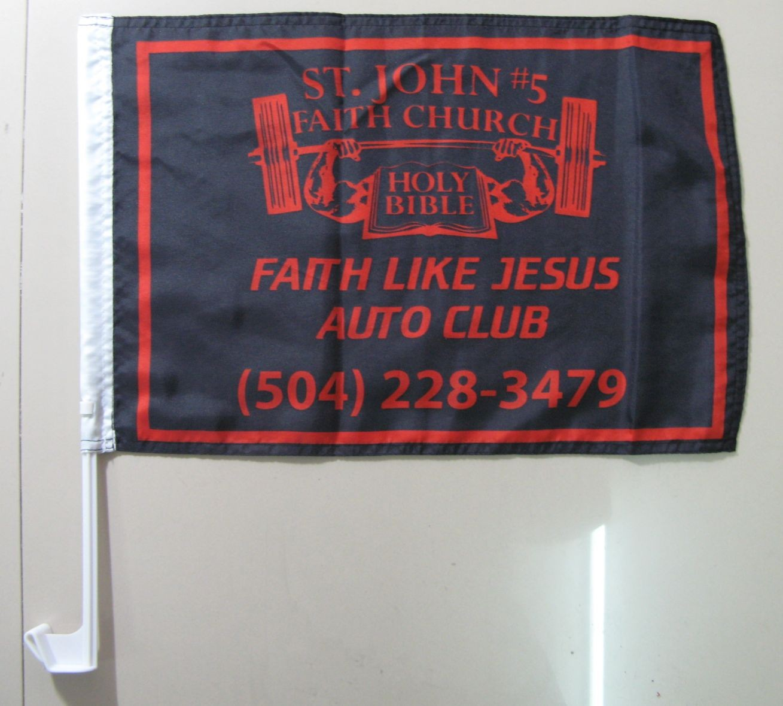 Auto Club Car Flags