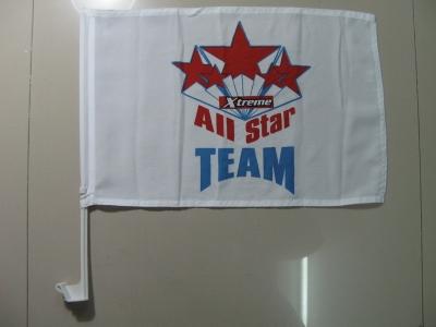 All Star Team Car Flag
