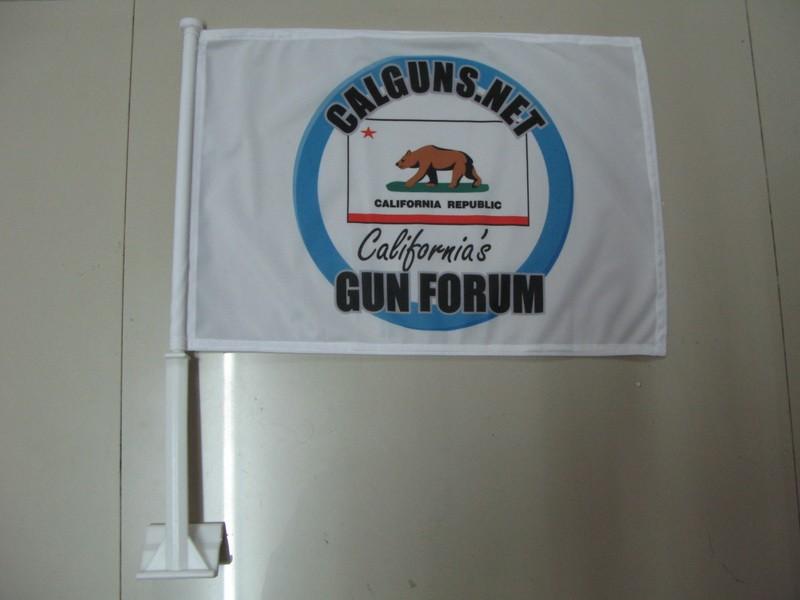 Calguns.net Car flag