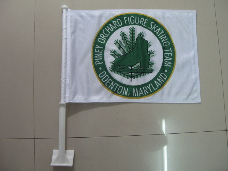 Piney Orchard Car Flag