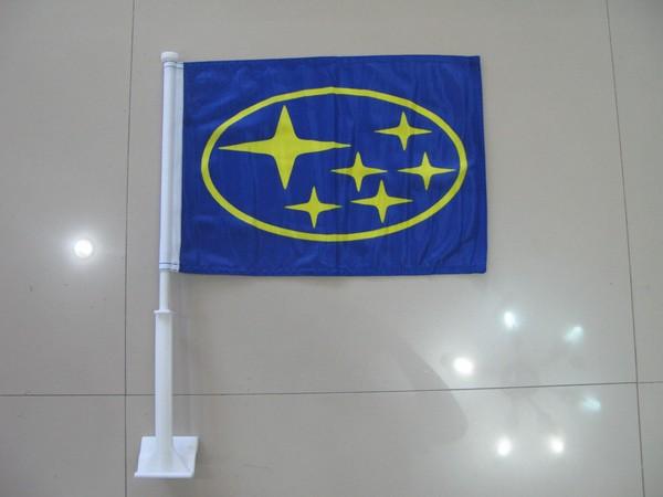 Subaru Car Flag