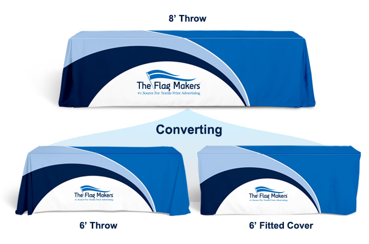 Convertible Table Throws - The Flag Makers