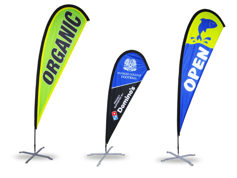 custom-printed-Teardrop-banners