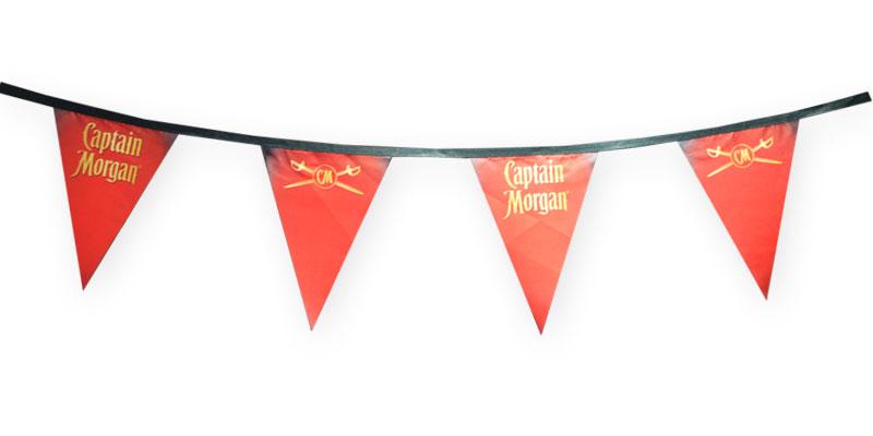 custom string pennants
