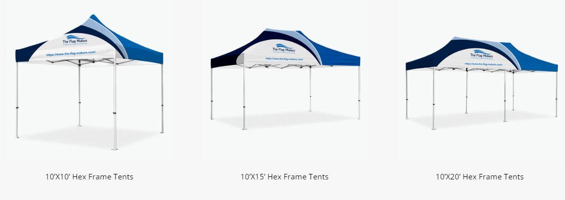 hex frame sizes