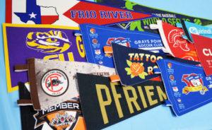 custom pennants