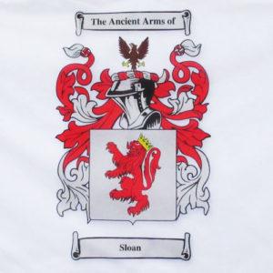 Family crest sloan