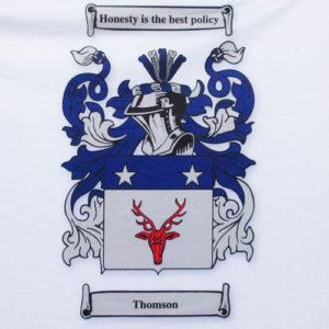 Family crest thomson