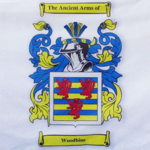 Family crest woodbine