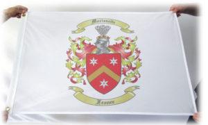 crest flag france