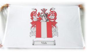 crest flag vick