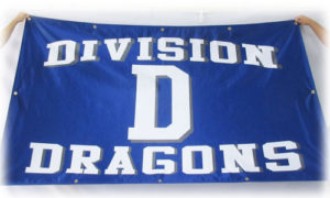 division d dragons gym flag