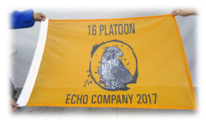 custom platoon flag