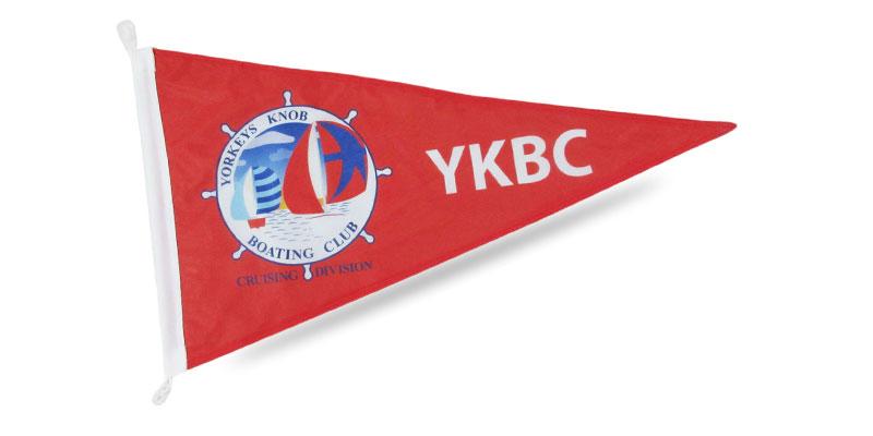pennant style flag