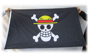 pirate flag custom print