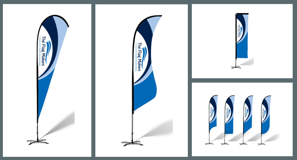 custom banner and feather flags
