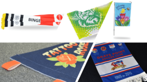 custom flags items as promotional gifts