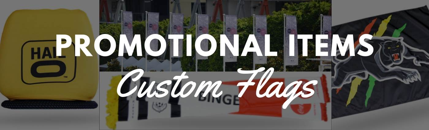 Custom Flags Make Great Promotional Items